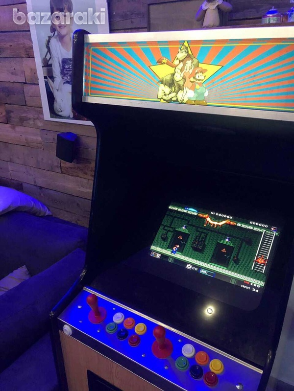 Arcade coin operated video game, coin operated-4
