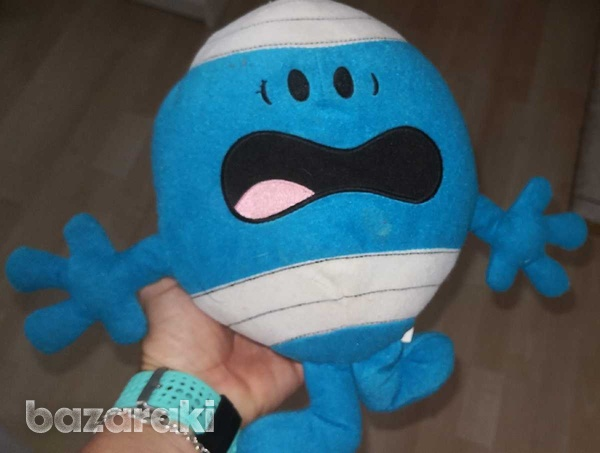 Mr men, mr bump, with recorded message, soft toy-1