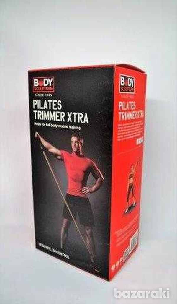 Pilates trimmer rubber exercise-2
