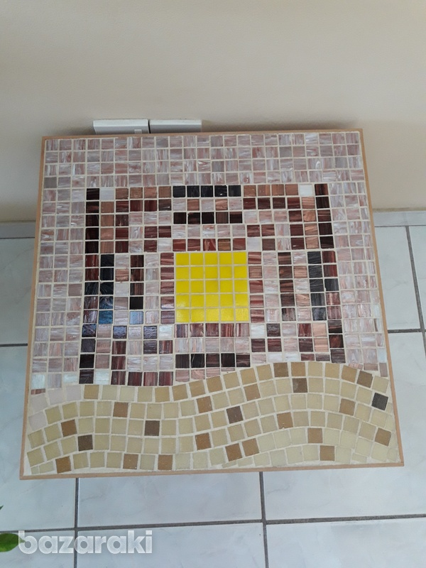 Handmade mosaic coffee table-2