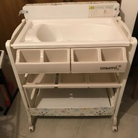 Baby bath and changer