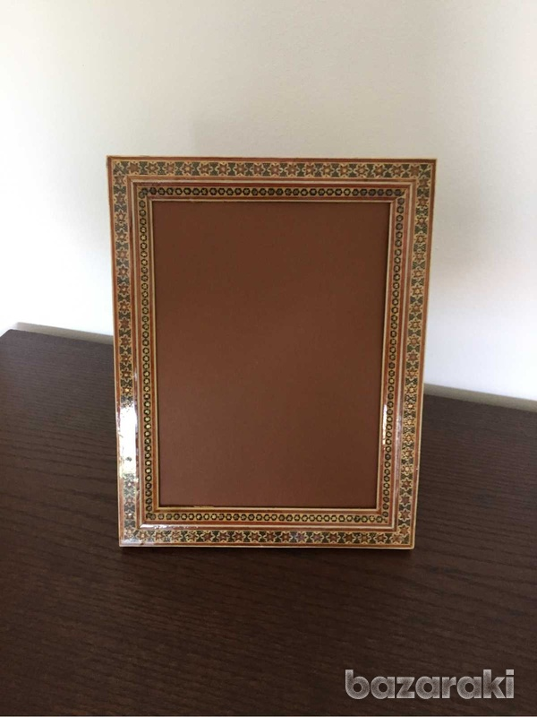 Handmade wooden picture frame-3