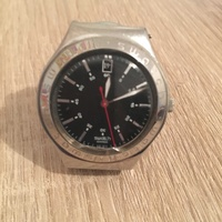 Swatch watch metal stainless steel