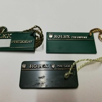 Rolex president tags various dates