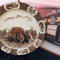 Antique japanese plate