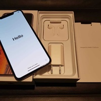 Apple iphone xs 64gb gold with box and accessories