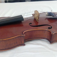 French violin from the 1800s franot pierre - mirecourt build