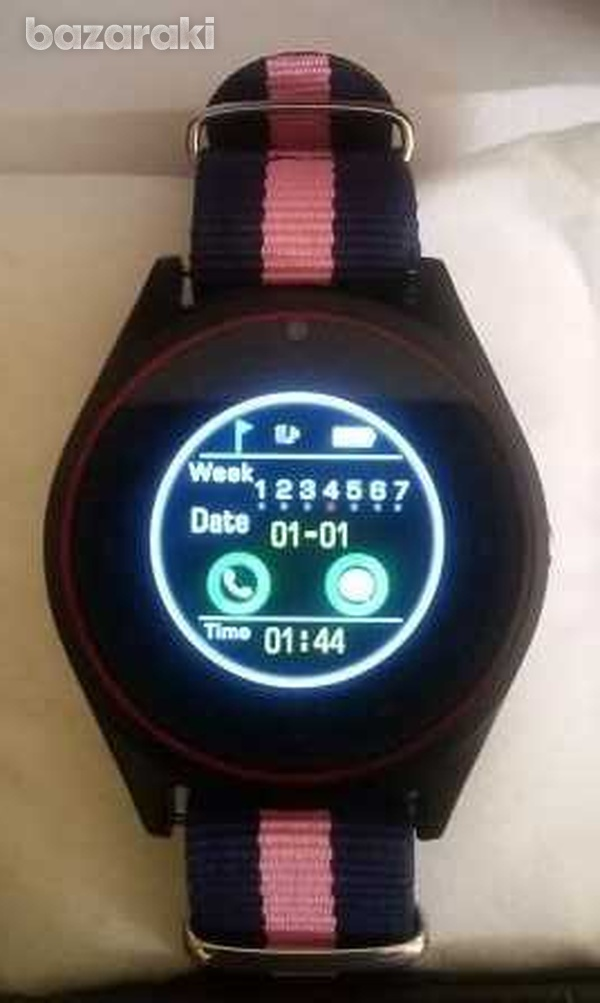 New in v9i smart watch with sim card slot camera bluetooth for android-1