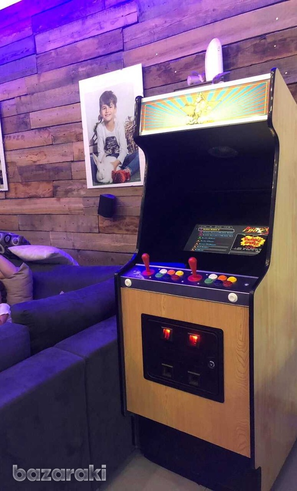 Arcade coin operated video game, coin operated-1