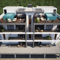 New 4 +1 bedroom penthouse in potamos germasogeias