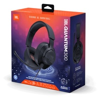 Headphones with microphone for pc/console jbl quantum 300 black