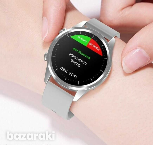 Fitness watch android ios make bluetooth call heart rate blood pressure-2