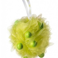 Faberlic. lime sorbet washcloth with soap pieces