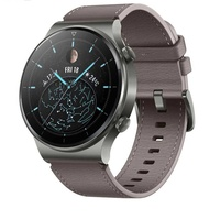 Huawei gt2 pro leather gray smartwatch