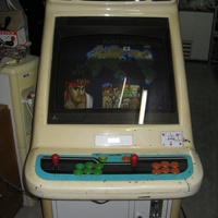 Arcade coin operated video game machine