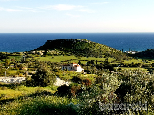 Land in ayios tychonas with unobstructed sea view-5