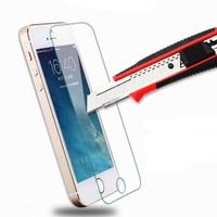 Real premium tempered glass screen protector for apple iphone55s5c