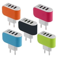 Multiport usb wall charger 3 ports