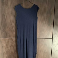 Mango blue a line dress