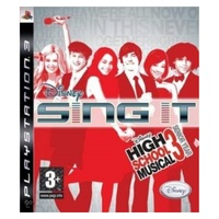 Sony playstation 3 - sing it hsm3 game - ps3