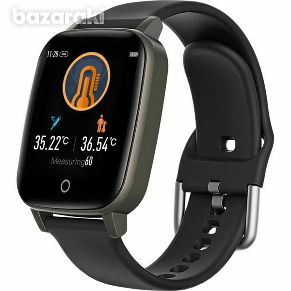 Body temperature blood pressure heart rate fitness watch-4
