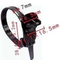 P- type cable strap toyota 82678-a9005