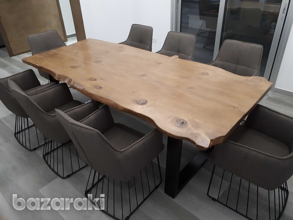 Live edge dining table-1