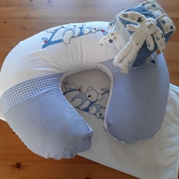 High-quality nursing pillow, cuddly baby blanket, soft play cube