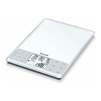 Beurer ds61 nutritional analysis scale, white