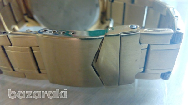Accurist mb1030b wrist watch gold colour digital and analog-7