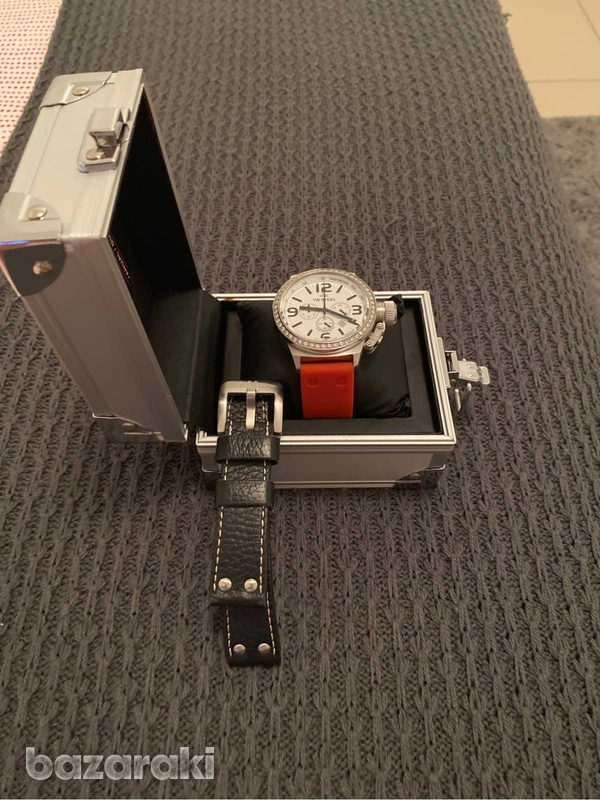 Original tw steel crystals watch with box and extra strap-6