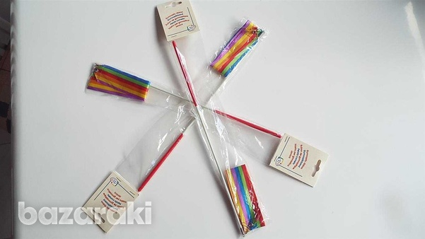 Two carnival, dance, exercise, ballet ribbons-1