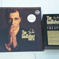 Collection of the godfather part lll lp and special limited edition