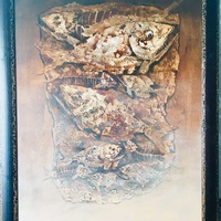 Balinese painting fishes