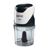 Imetec 7304 chopper 500 ch 350w, black and white