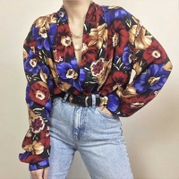 Vintage long sleeved 1990s blouse