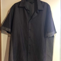 Next charcoal grey short sleeve shirt - large