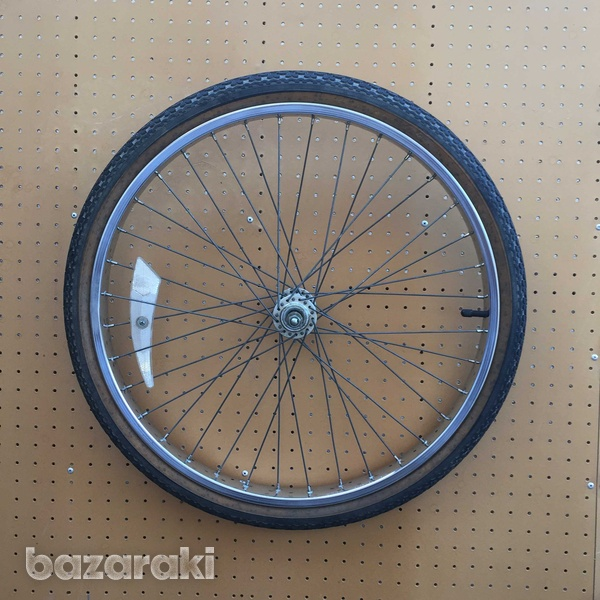 Raleigh front wheel and tyre-1
