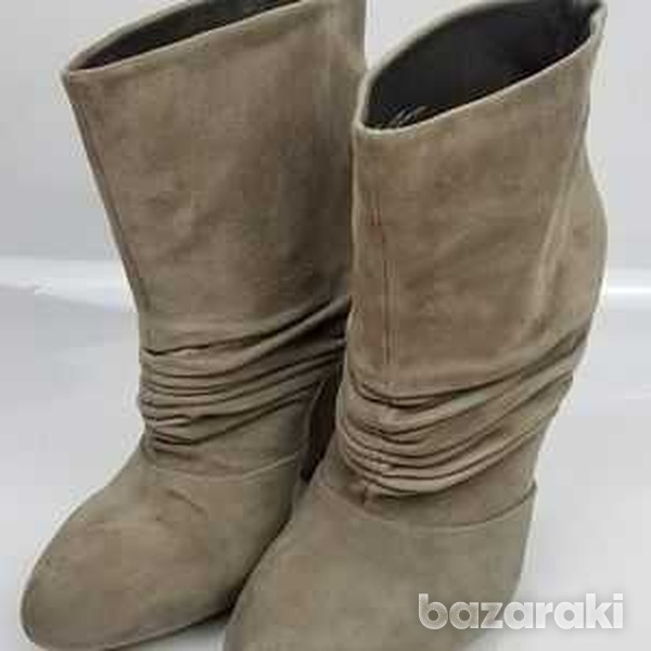 Suede boots in size 41-1
