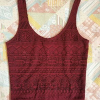 Wow stunning hollister by a and f womens crop tank top size xs
