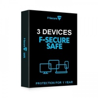 F-secure safe antivirus internet security 1 year 3 devices