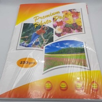 Unb new premium photo paper 230gsm a4 20 sheets water resistant glossy