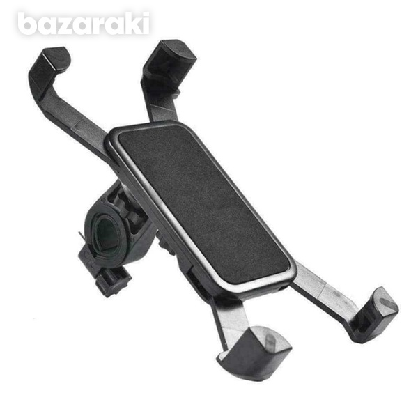 Bicycle motorcycle bike electric scooter handlebar mount phone holder
