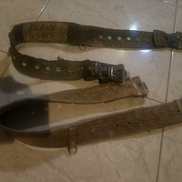 1940-50s british army pistol belt
