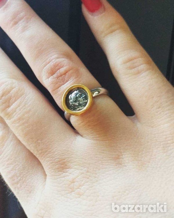 New athens silver 925 ring