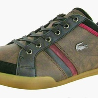 Lacoste men leather sport trendyshoes