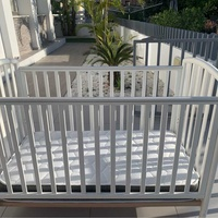 2 baby beds with aphostrom mattress