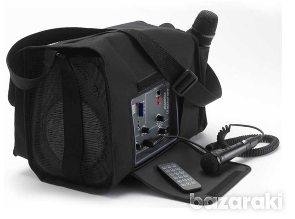 Battery-powered portable sound system-2