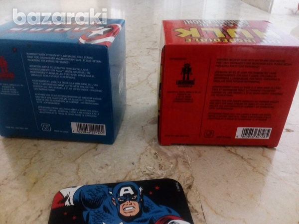 Marvel coffee mug and coaster / φλυτζανια καφε marvel-3