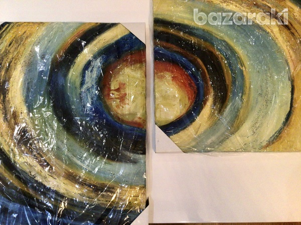 2 pieces oil painting πίνακας ζωγραφικής 2 κομμάτια-3